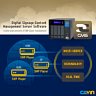 CAYIN CMS Station for NAS